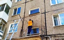 Замена прожектора над подъездом №4 дома по адресу ул. Кронита, 13