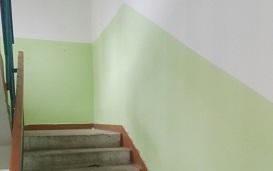 Ремонт подъезда №1 в доме по адресу ул. Кронита, 11