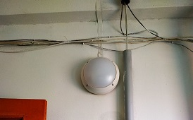 Замена светильников в доме по адресу ул. Кронита, 11