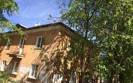 Закрашивание граффити на фасаде дома по адресу ул. Гашкова, 3