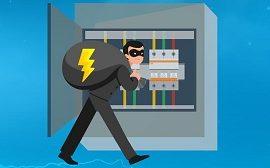 Штраф за самовольное подключение к электрической энергии на доме