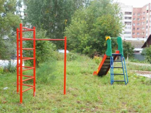Установка детской площадки по адресу ул. Академика Веденеева, 55